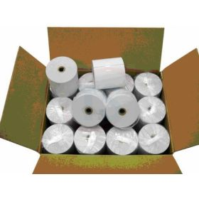 Single Ply Thermal Paper Rolls 50 x 75mm