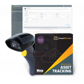 Wasp AssetCloudOP Basic - 1 user w/WWS650 scanner
