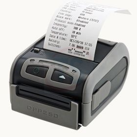 "2"" thermal mobile receipt/label printer, MFi-certified, battery operated, Bluetooth"