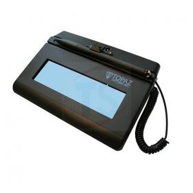 Topaz Siglite 1x5 Serial LCD Backlit - T-LBK460-B-R