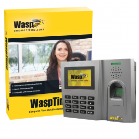 WaspTime B2000 Biometric time clock