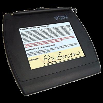 Topaz SigGem 5x7 LCD Colour - T-LBK57GC-BHSB-R