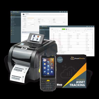 Wasp AssetCloudOP Complete - 5 user w/HC1 2D QWERTY & WPL308