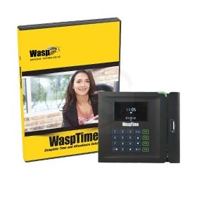 WaspTime V7 Standard W/ Barcode Clock