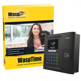 WaspTime V7 Enterprise W/HID time clock