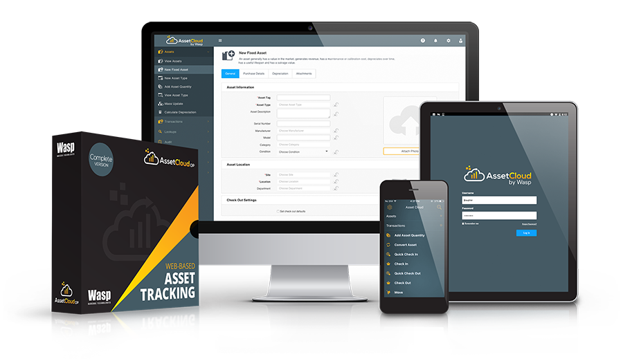 Wasp Asset Cloud Software System Australia