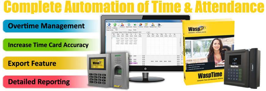 Wasp Time and Attendance Systems Australia